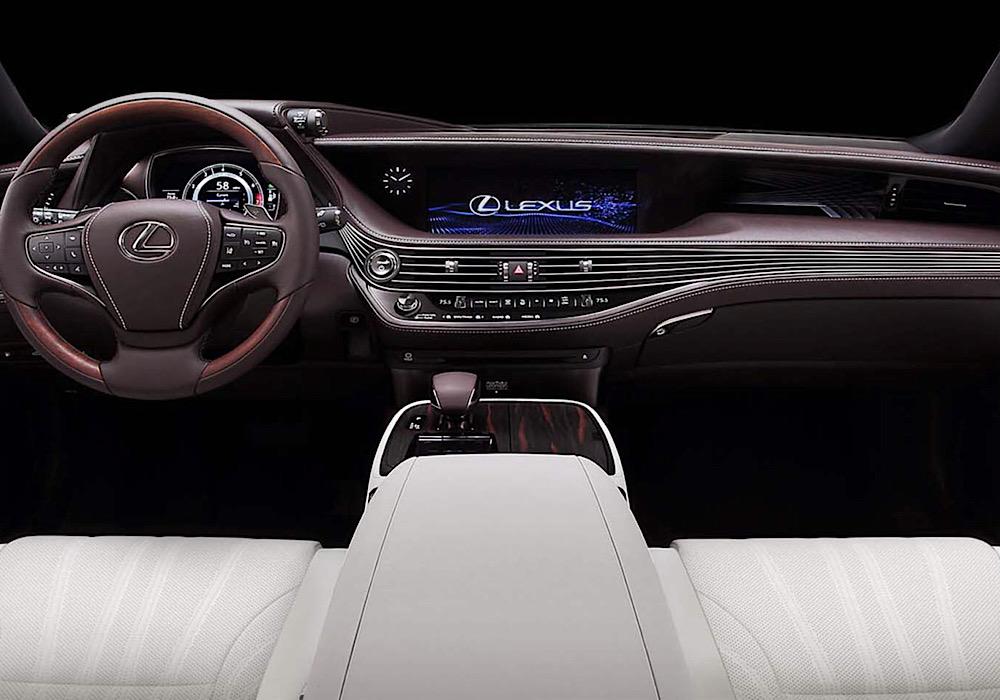 Plancia Lexus LS