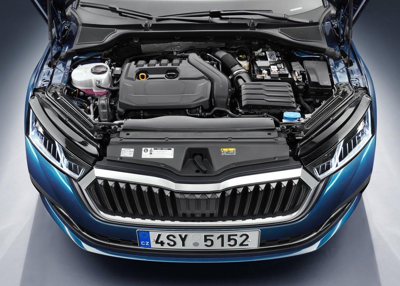 Motori di Nuova Skoda Octavia 2020