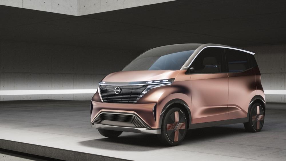 Nissan IMk Concept al salone di Tokyo