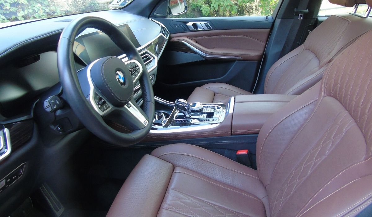 Nuova BMW X5 2020 interni