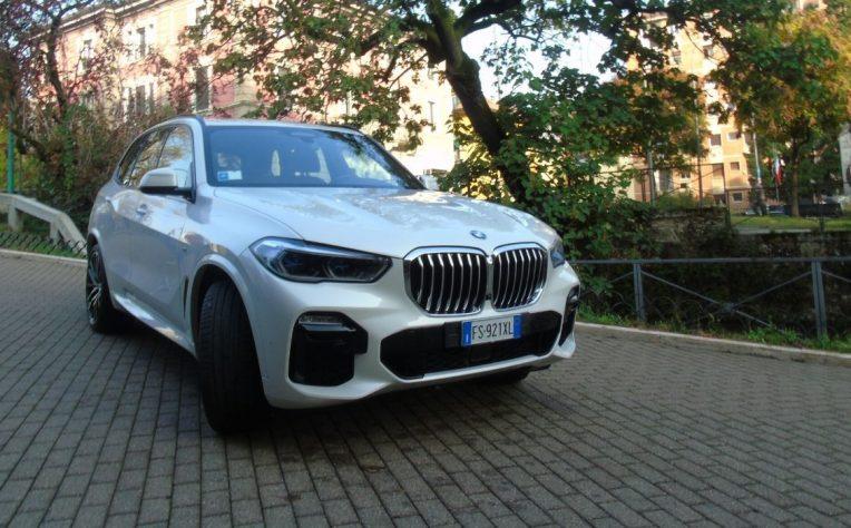 Nuova BMW X5 2020 test drive
