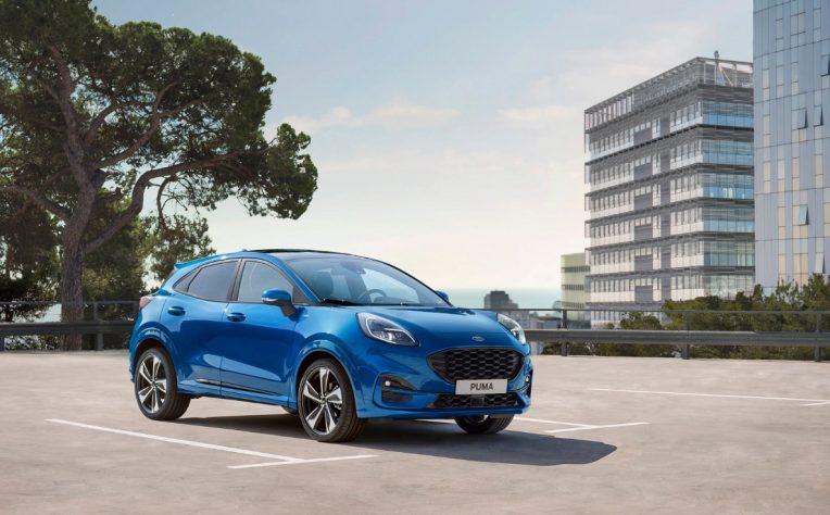 Nuova Ford Puma EcoBoost Hybrid 2020
