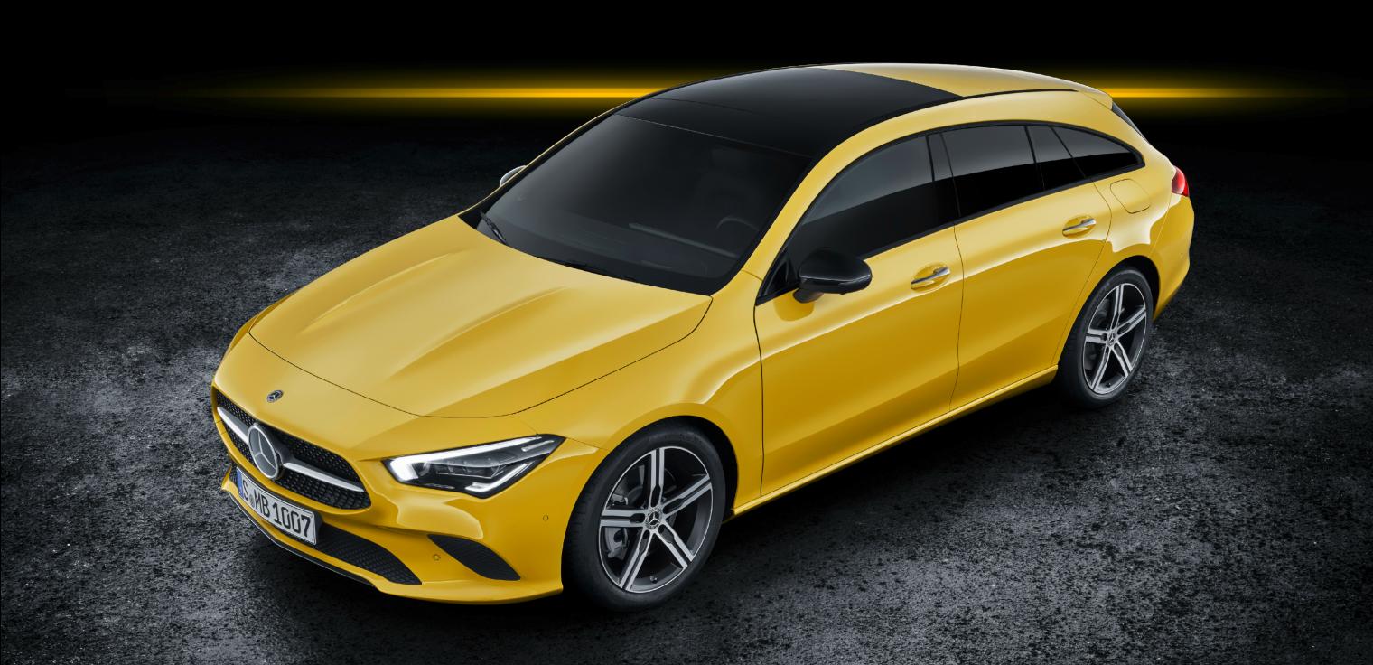 Nuova Mercedes CLA Shooting Brake 2020