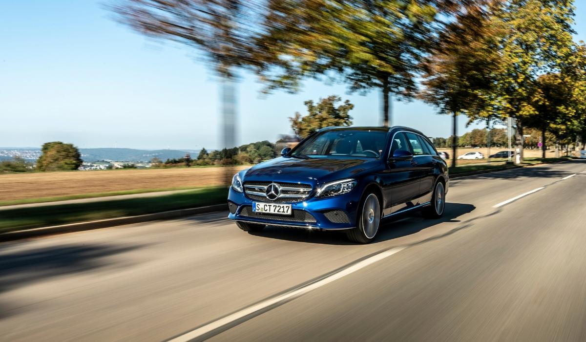 Nuova Mercedes Classe C SW 2020 ibrida plug-in diesel