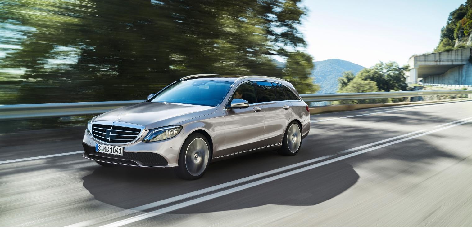 Nuova Mercedes Classe C station wagon