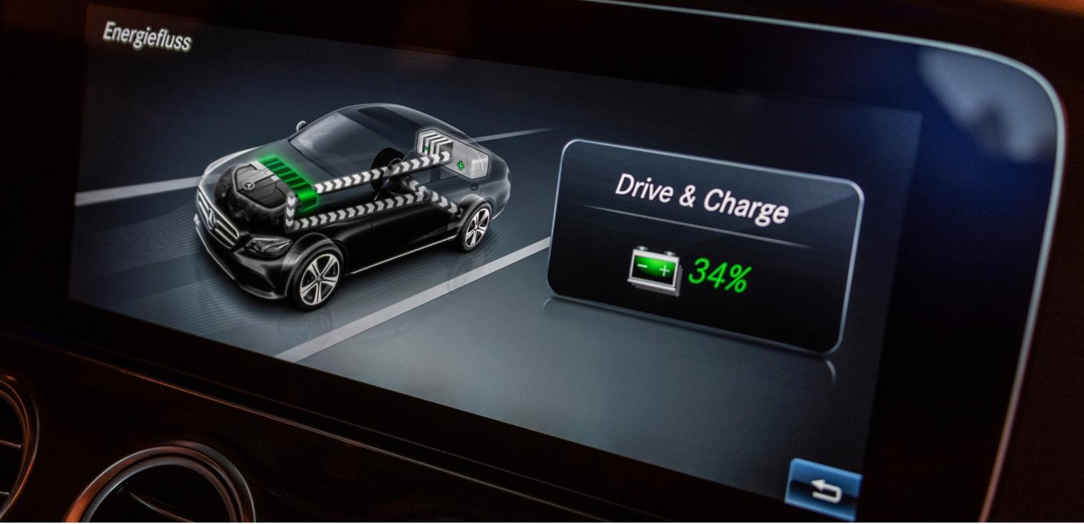 Nuova Mercedes Classe E 300 de EQ-Power sistema ibrido
