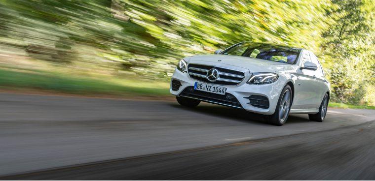 Nuova Mercedes Classe E ibrida diesel