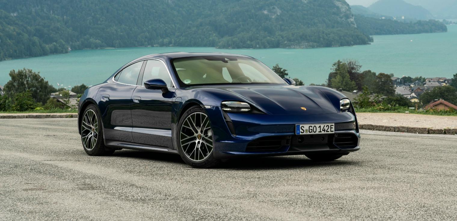Nuova Porsche Taycan 2020