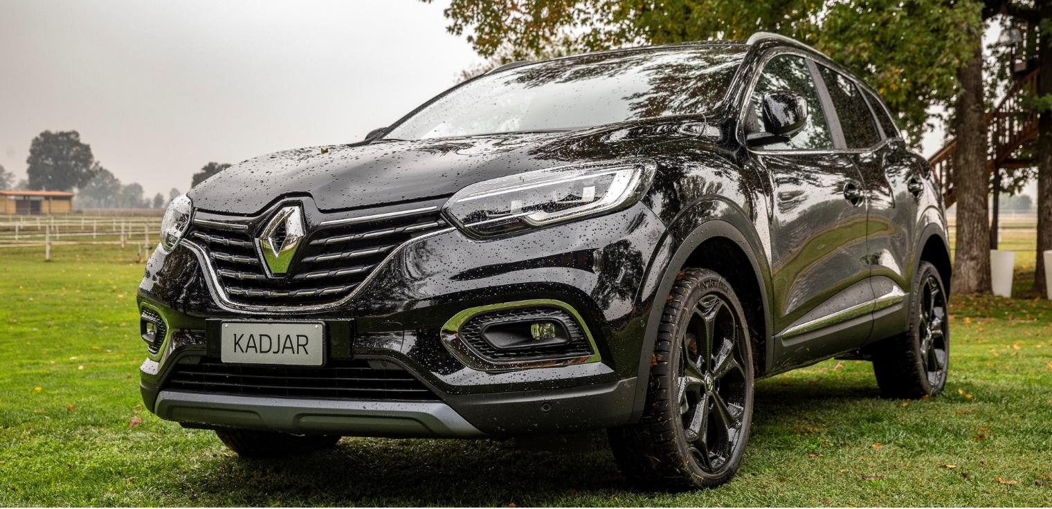 Nuova Renault Kadjar 2020 Black Edition nera