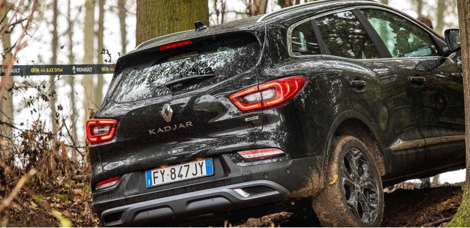 Nuova Renault Kadjar 2020 Black Edition off-road
