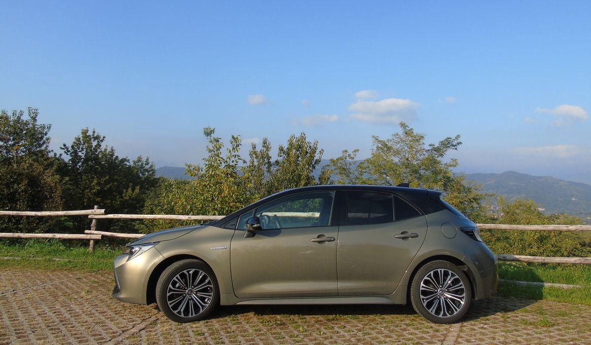 Nuova Toyota Corolla 2020 test drive