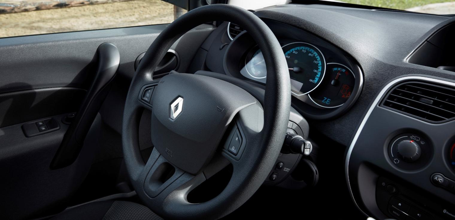 Nuovo Renault Kangoo Z.E. Hydrogen 2020 abitacolo