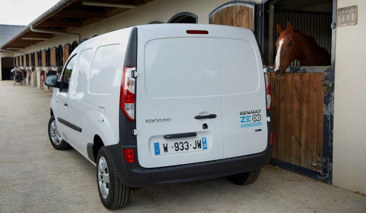 Nuovo Renault Kangoo Z.E. Hydrogen 2020