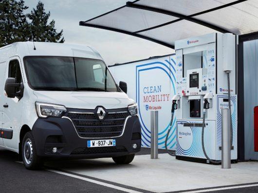 Nuovo Renault Master Z.E. Hydrogen 2020 bianco