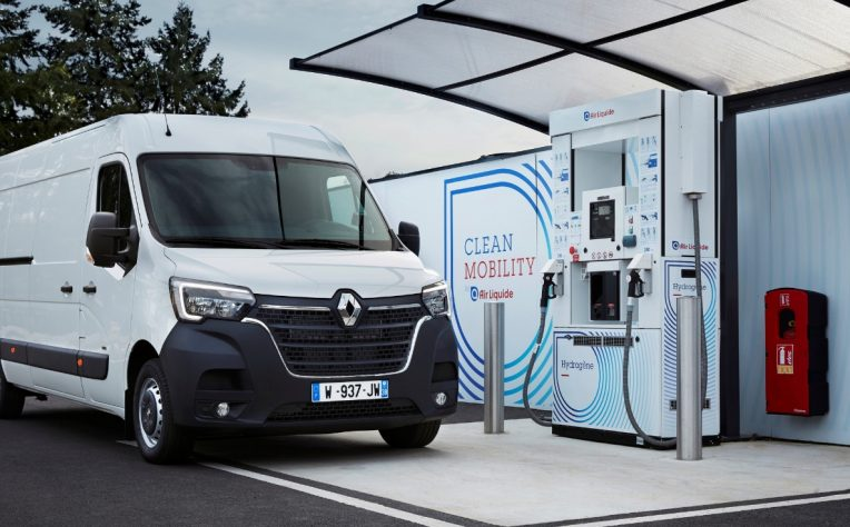 Nuovo Renault Master Z.E. Hydrogen 2020 bianco
