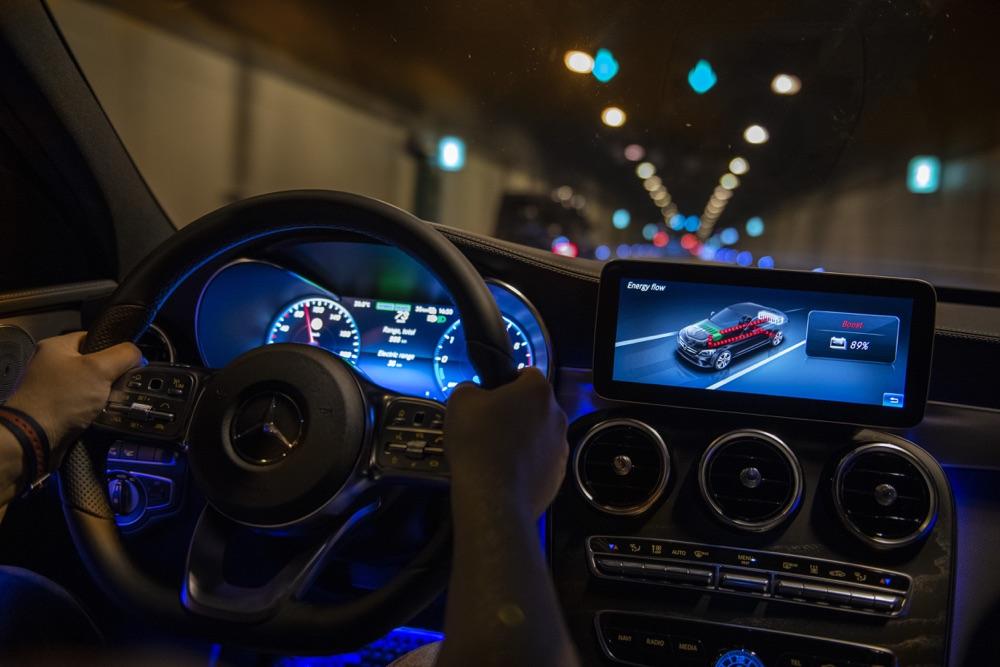 Recupero energia Ibrido diesel Mercedes EQ power