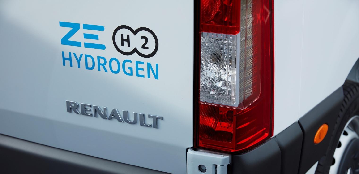 Renault Master Z.E. Hydrogen 2020 veicolo commerciale a idrogeno