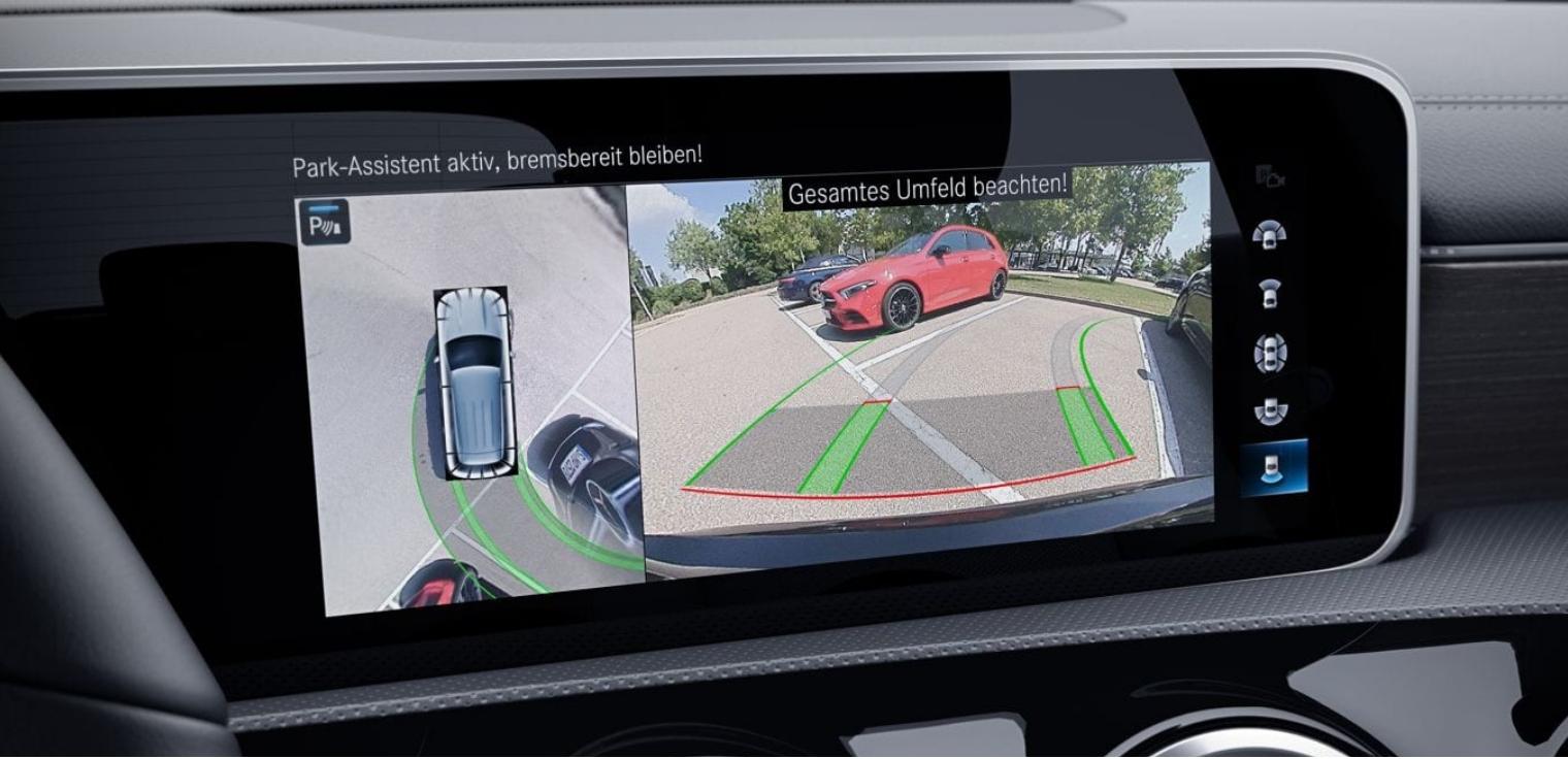 Sensori parcheggio telecamera