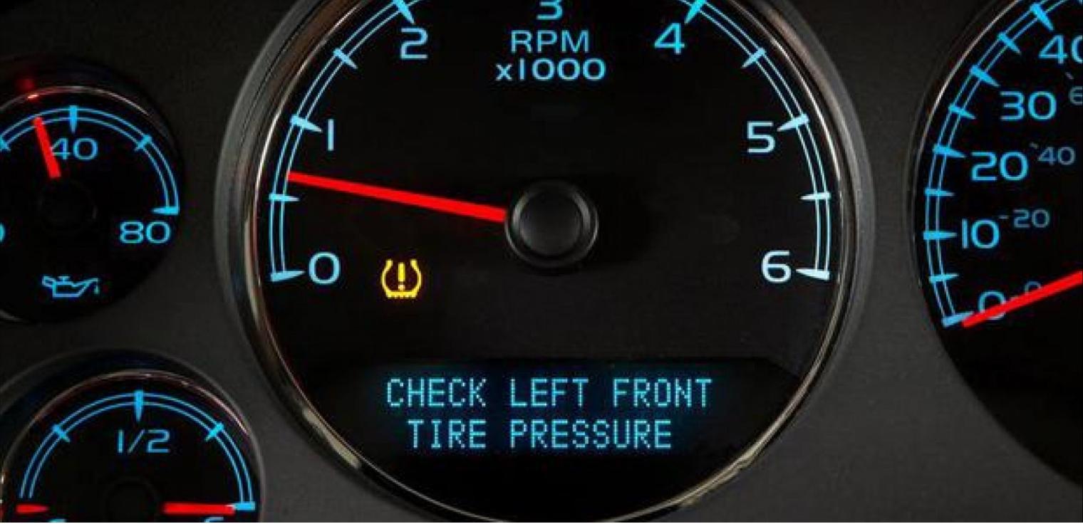 ensori pressione pneumatici avviso gomme sgonfie