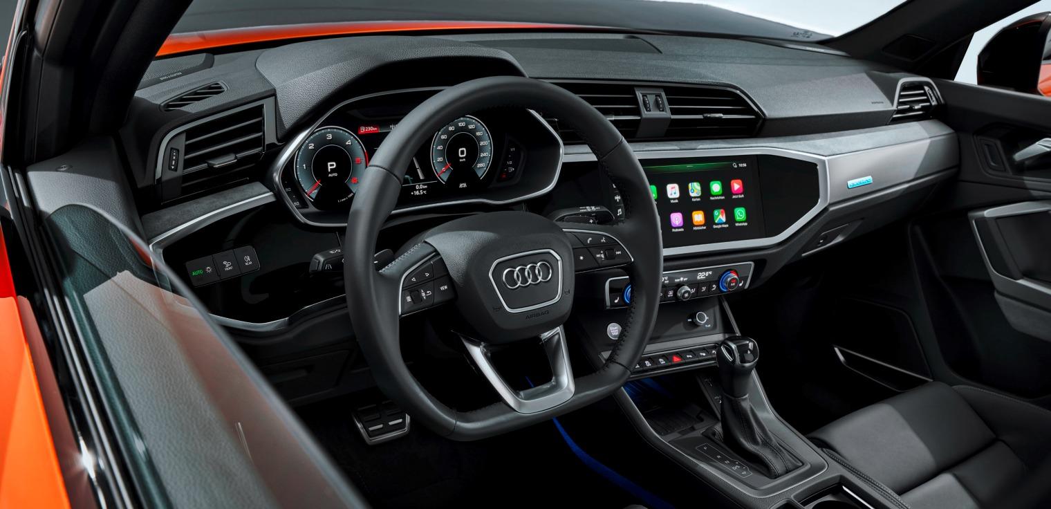 Tecnologia nuova Audi Q3 Sportback