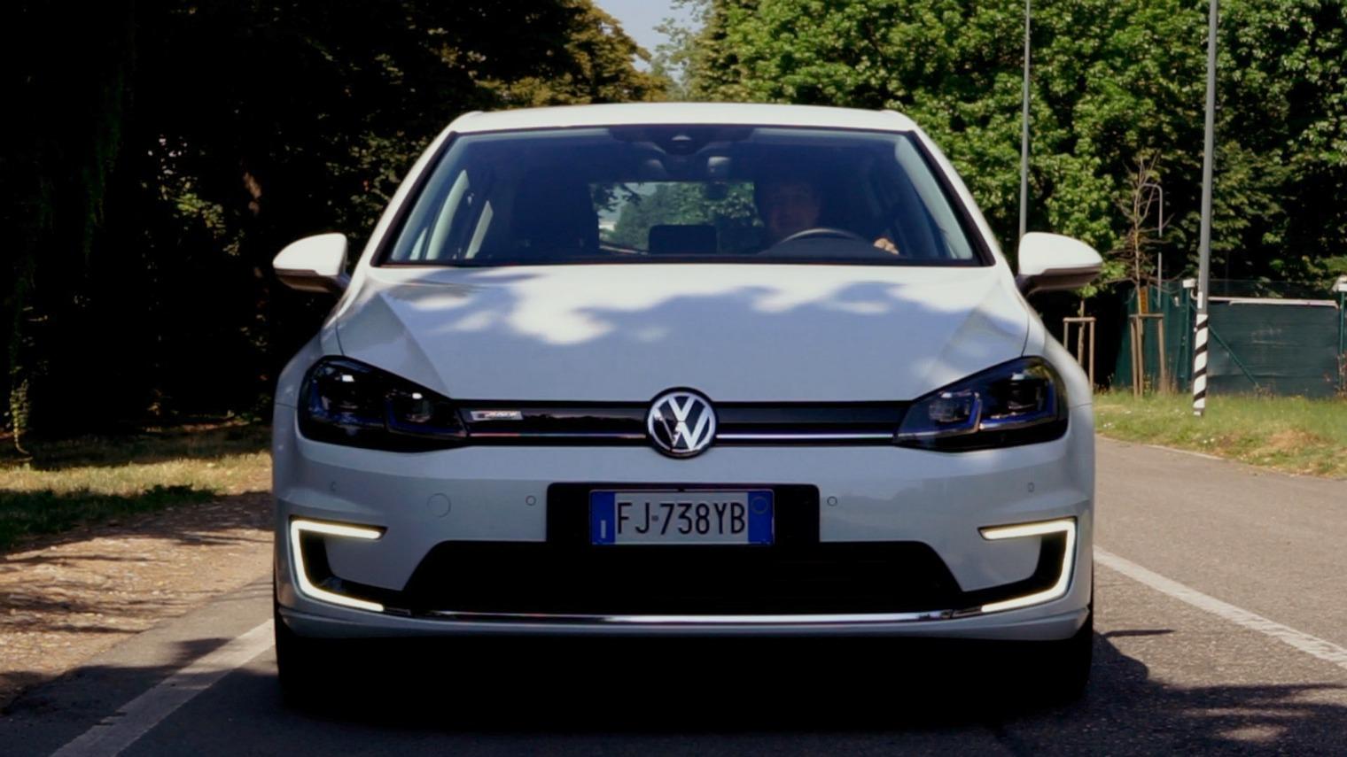 Volkswagen e-Golf frontale