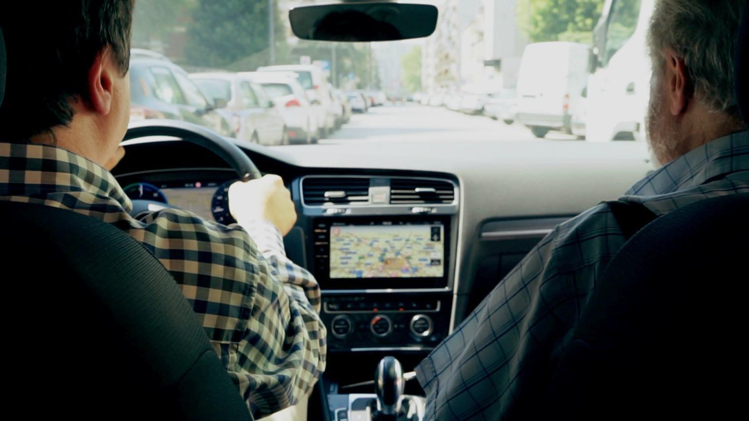 Volkswagen e-Golf interni