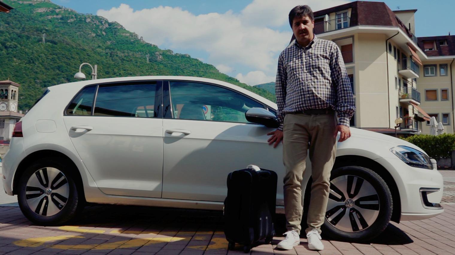 Volkswagen e-golf Valsassina