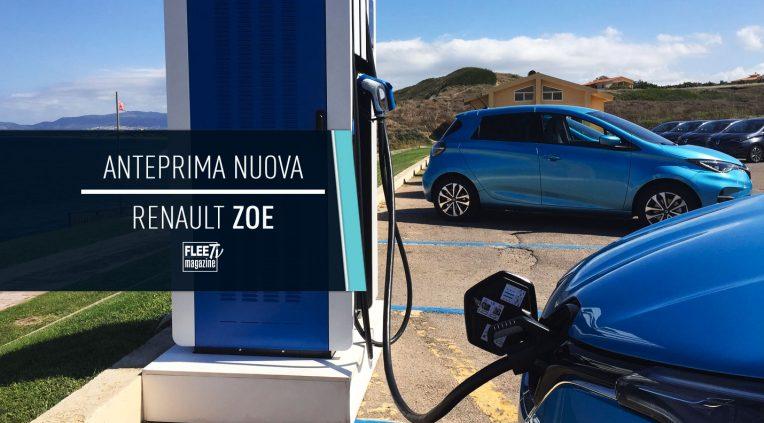 anteprima nuova Renault Zoe 2020
