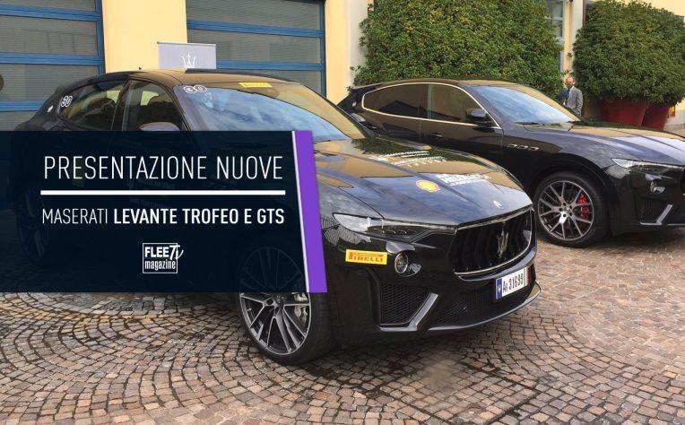 Presentazione Maserati Levante Trofeo e GTS