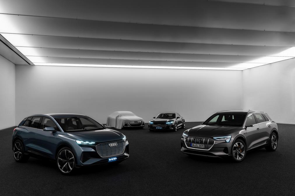 elettriche Audi e-tron