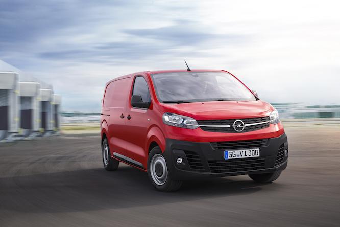 nuovo Opel Vivaro elettrico
