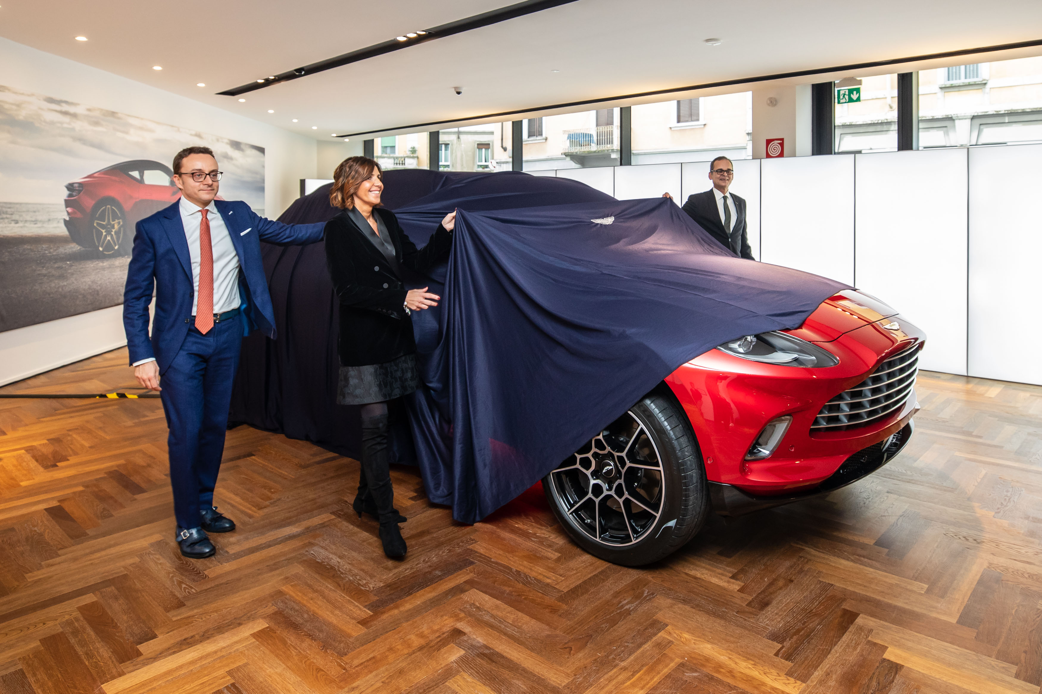 Aston Martin DBX Milano