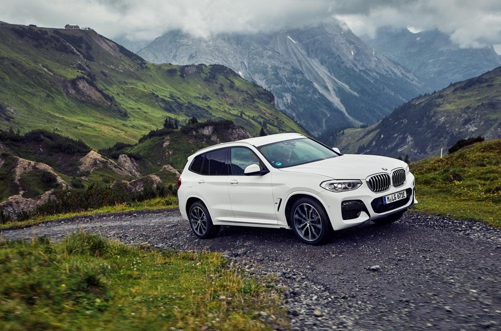 Autonomia di BMW X3 xDrive30e ibrida
