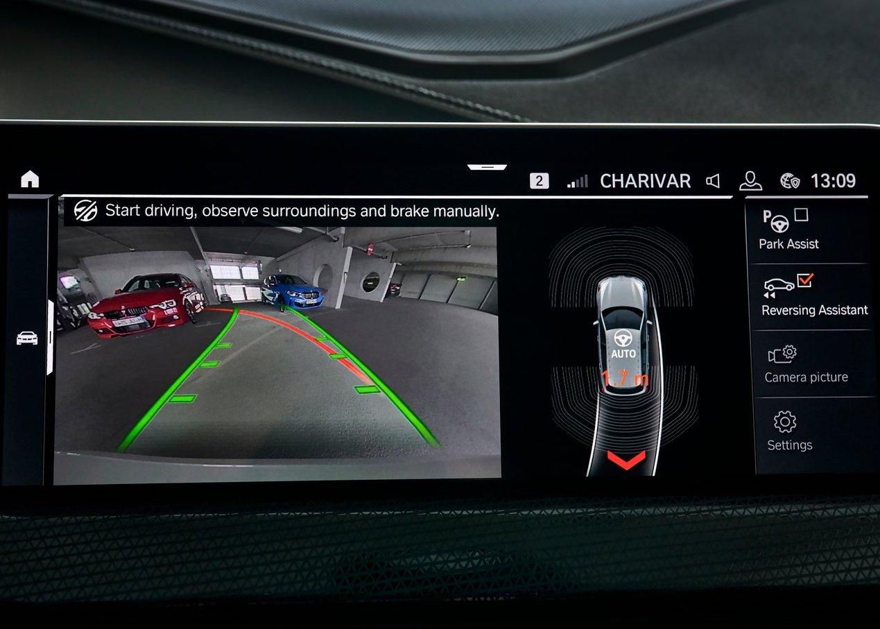 Parcheggio autonomo BMW