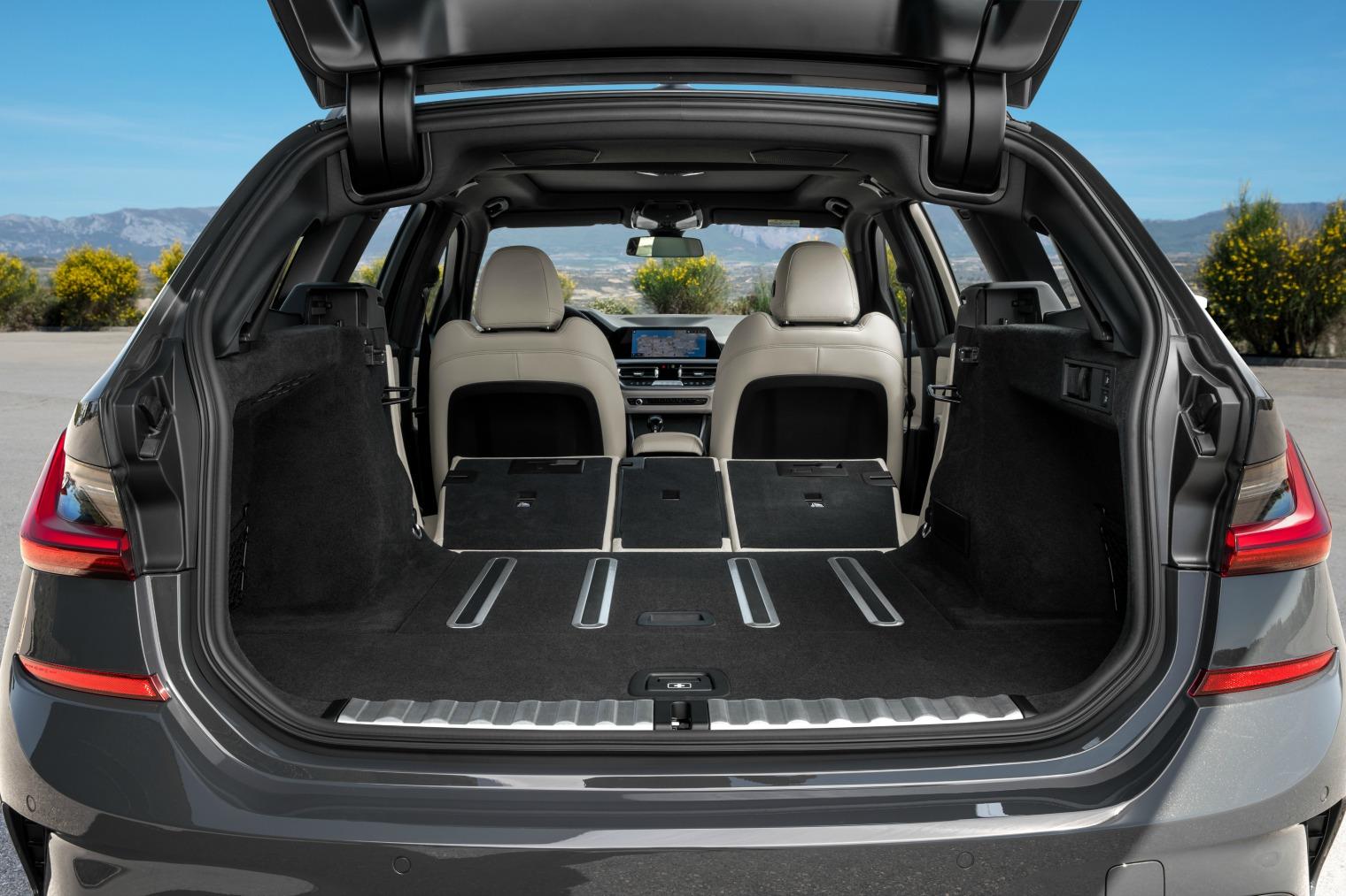 Bagagliaio nuova BMW Serie 3 Touring