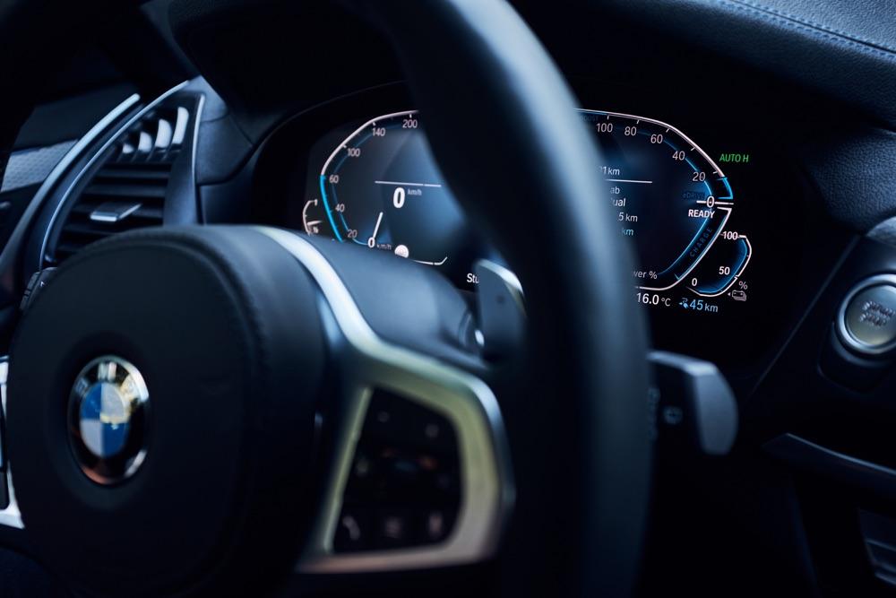 Caratteristiche di BMW X3 xDrive30e ibrida