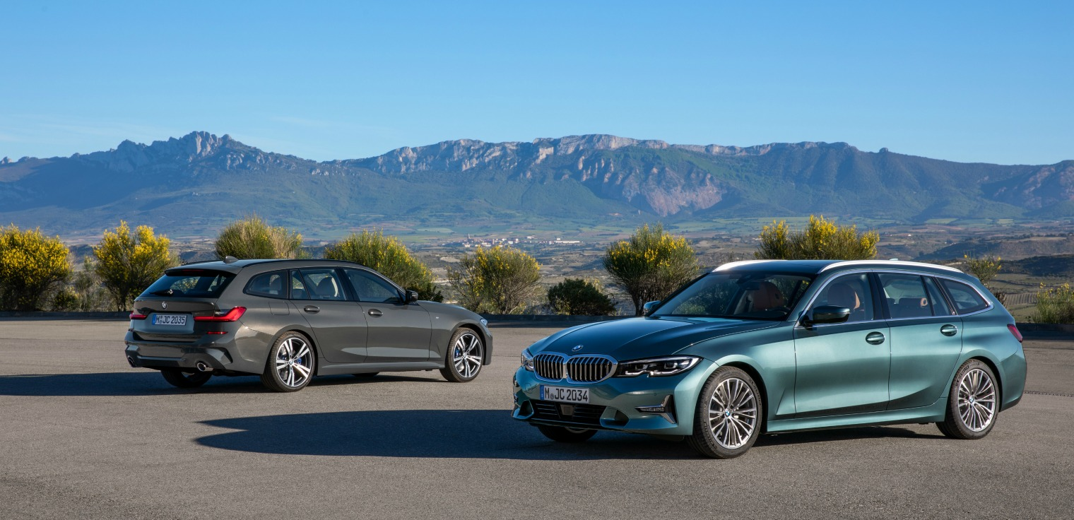 Esterni nuova BMW Serie 3 Touring 2020