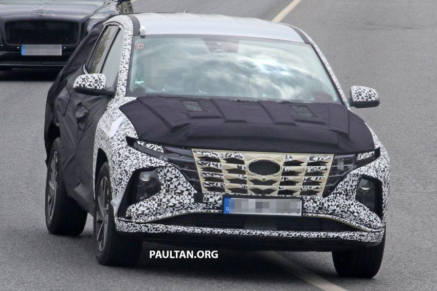 Foto spia nuova Hyundai Tucson 2020