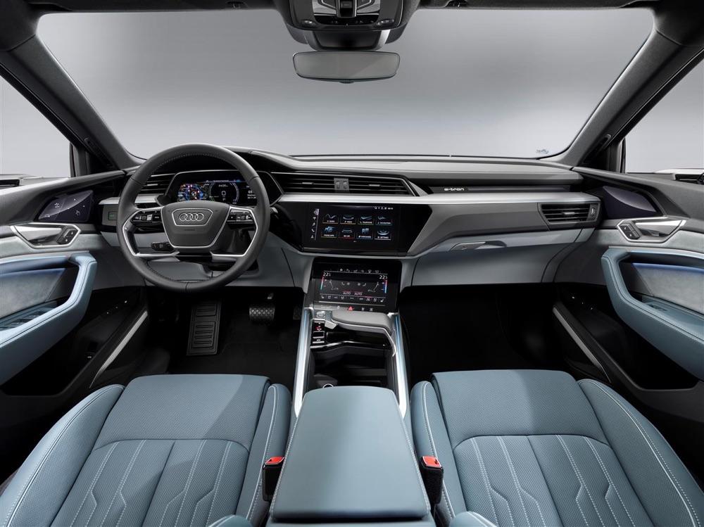 Interni di Audi e-Tron Sportback