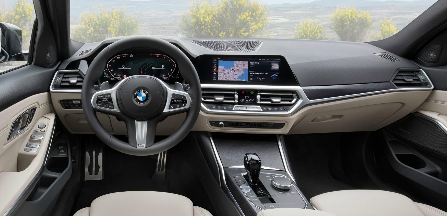 Interni nuova BMW Serie 3 Touring