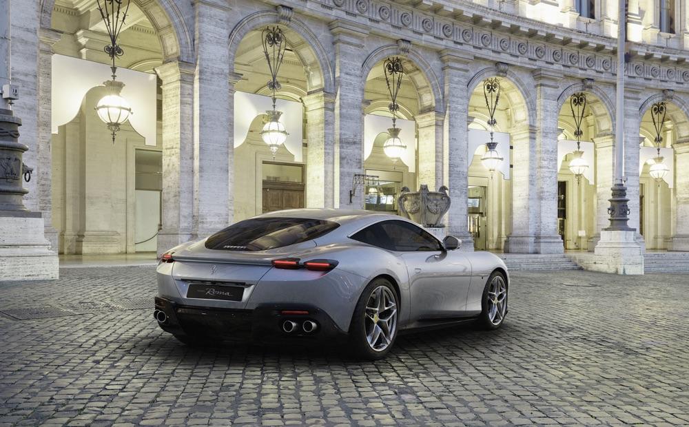 Motore di Ferrari Roma