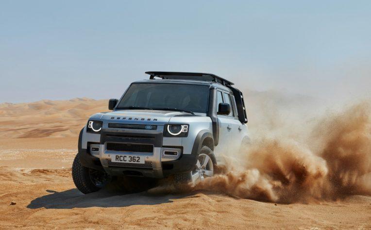 Motori nuova Land Rover Defender
