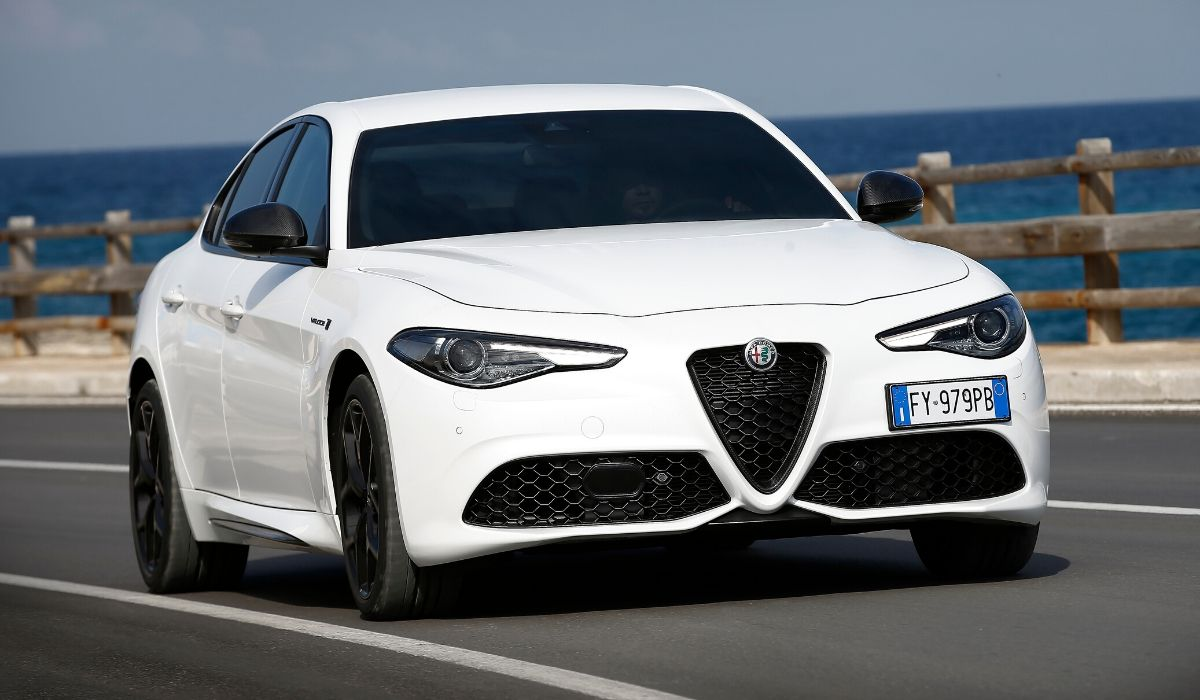 Nuova Alfa Romeo Giulia 2020 su strada