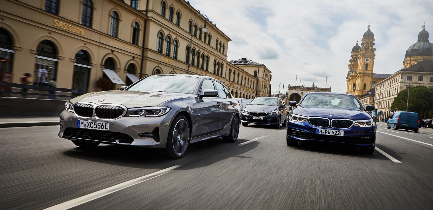 Nuova BMW Serie 3 2020 ibrida plug-in