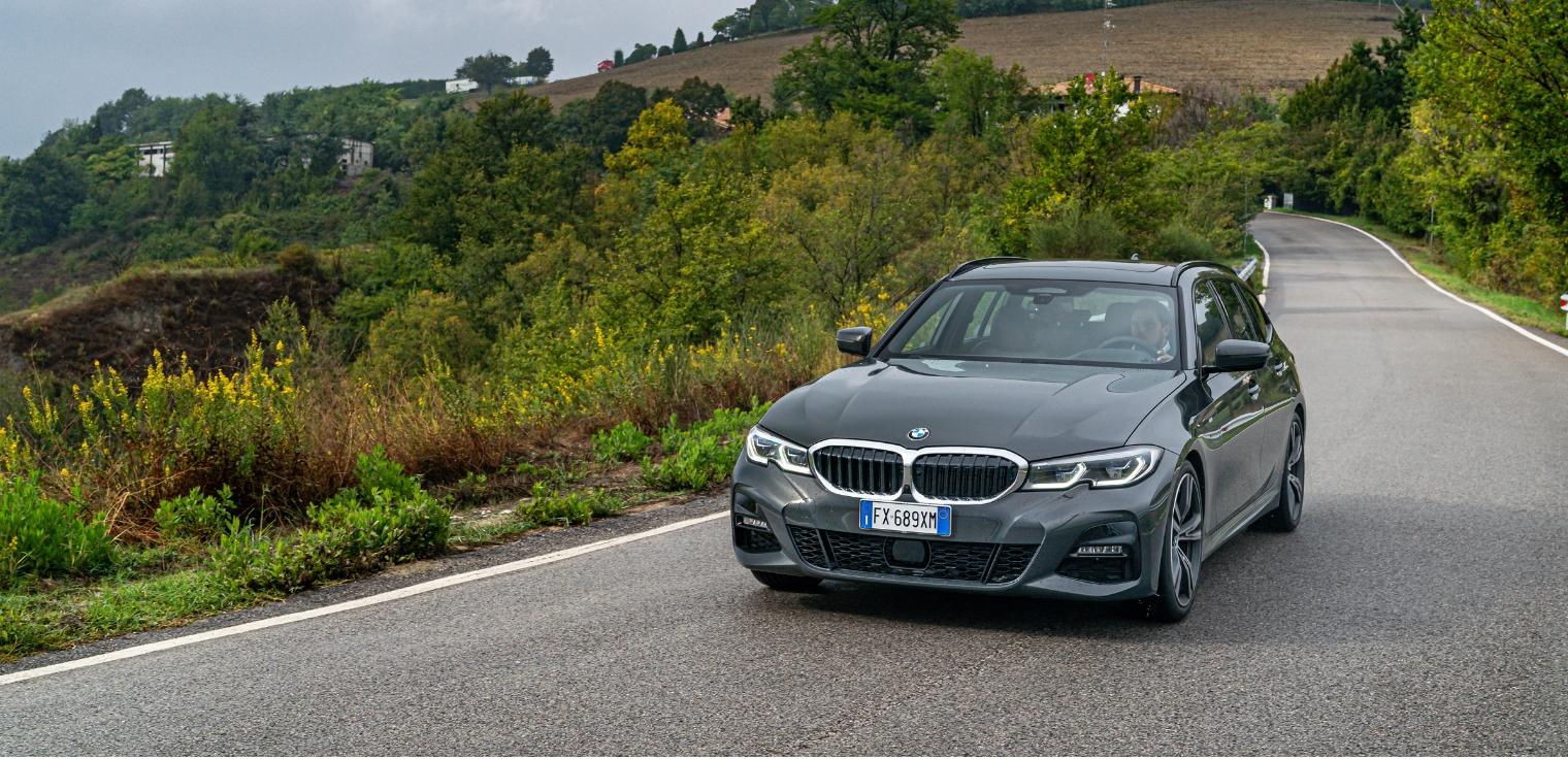 Nuova BMW Serie 3 Touring 2020 auto aziendale