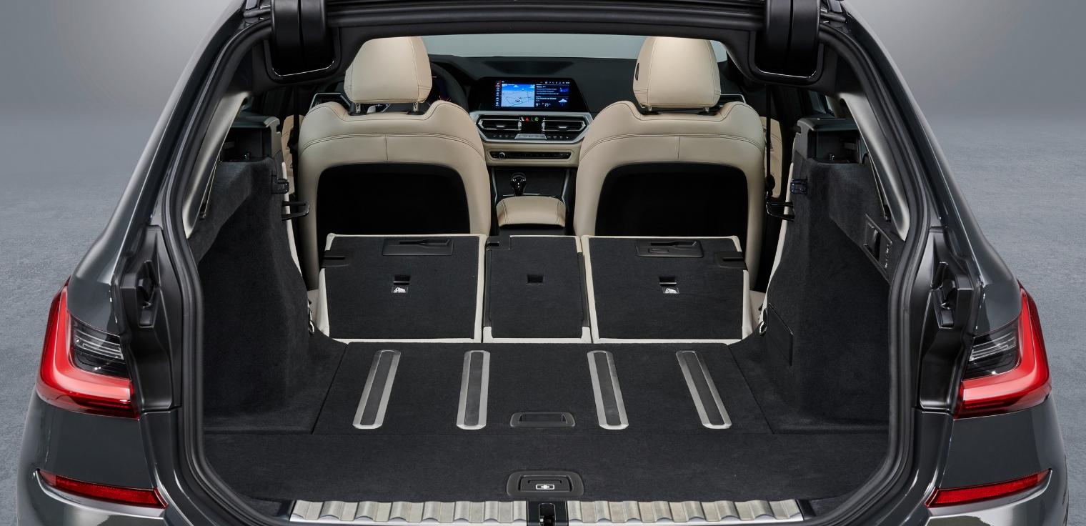 Nuova BMW Serie 3 Touring 2020 bagagliaio
