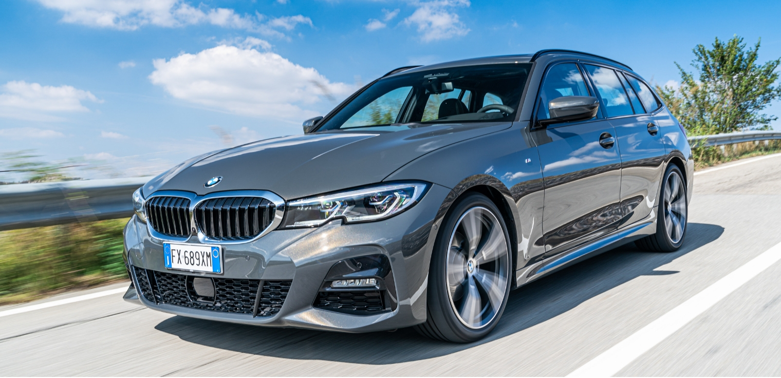 Nuova BMW Serie 3 Touring 2020 frontale