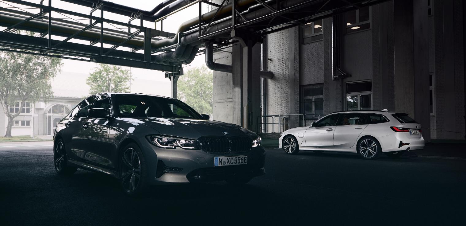 Nuova BMW Serie 3 Touring 2020 ibrida