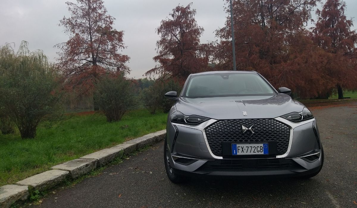 Nuova DS 3 Crossback 2020 frontale