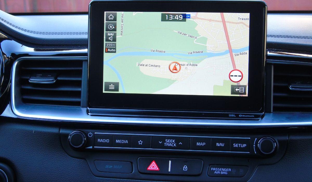 Nuova Kia ProCeed 2020 sistema multimediale